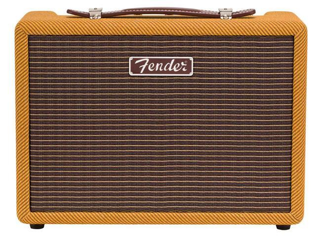 画像: Fenderから、50年代のアンプデザインをフィーチャーしたBluetoothスピーカー「MONTEREY TWEED」が11月に登場 - Stereo Sound ONLINE