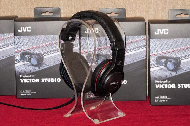 画像: JVC×ビクタースタジオ共同開発。ハイレゾ対応モニターヘッドホン 「HA-MX100-Z」がデビュー | Stereo Sound ONLINE