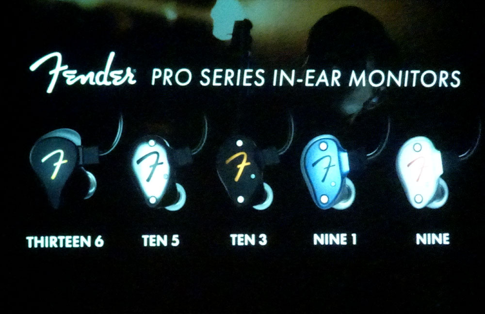 画像: ▲新製品となるインイヤーモニター「Pro IEM」シリーズ5モデル
