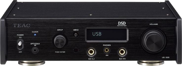 画像: TEAC、旭化成最上位DAC搭載のヘッドホンアンプ「UD-505」、来年1月27日に発売。4.4mm5極バランス端子も装備 | Stereo Sound ONLINE