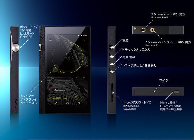 画像: オーディオ&ビジュアル製品情報:ヘッドホン>DP-X1A|オンキヨー株式会社