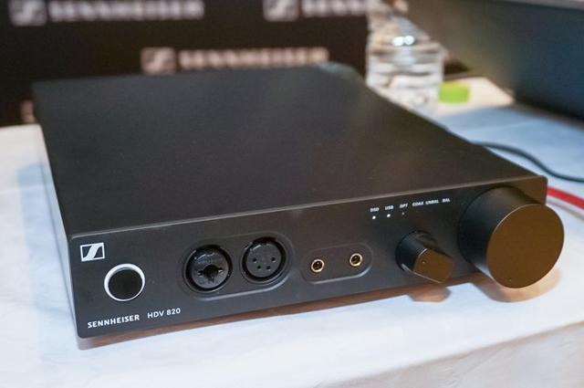 画像: ゼンハイザー、ヘッドホンアンプ「HDV 820」を発売。ESS製DAC採用でDSD 11.2MHz、PCM 384kHz/32bitに対応 | Stereo Sound ONLINE