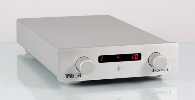 画像: 独トライゴンSNOWWHITE II。幅200mmのコンパクトなプリアンプがバージョン2に進化 | Stereo Sound ONLINE