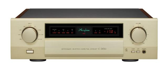 画像: アキュフェーズ、6月下旬よりフルモデルチェンジしたプリアンプ「C-2450」発売 | Stereo Sound ONLINE