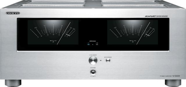 画像: オーディオ&ビジュアル製品情報:パワーアンプ>M-5000R(S)|オンキヨー株式会社