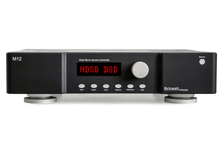 画像: 米国Bricasti Design「M12」。DAC/ネットワークプレーヤー機能内蔵プリアンプがデビュー | Stereo Sound ONLINE