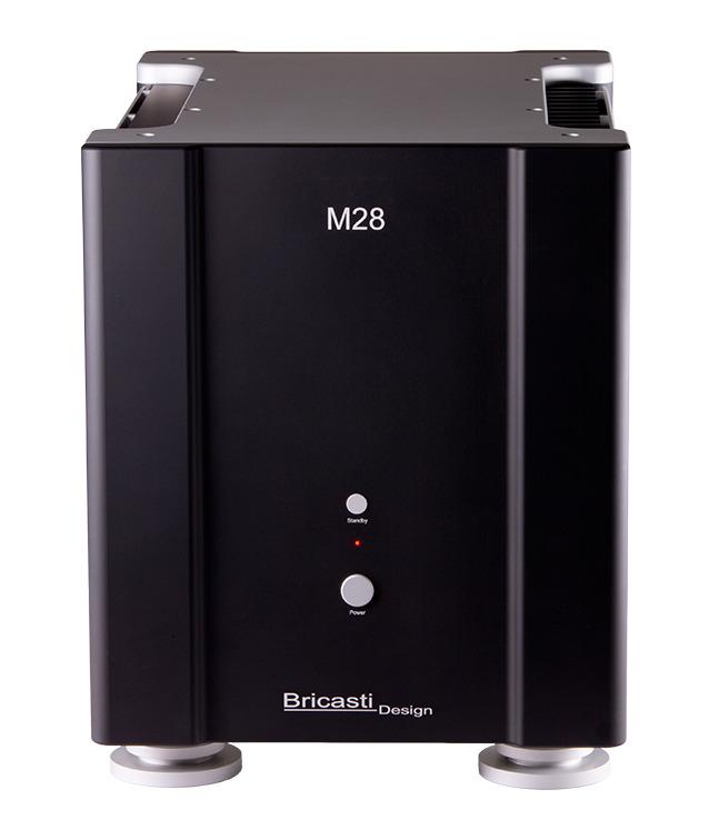 画像: 米ブリキャスティ・デザインのモノーラル・パワーアンプ「M28SE」。強力な電源部で高リニアリティを目指す | Stereo Sound ONLINE
