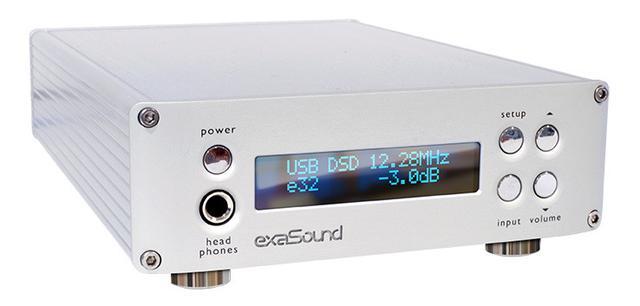 画像: エクササウンドの最上位D/Aコンバーター「e32」。最新DAC素子ES9028PROを採用 | Stereo Sound ONLINE