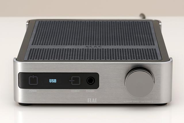 画像: スマホから操作や音場補正できる、USB DAC内蔵プリメインアンプ「EA101EQ-G」をエラックが発売 | Stereo Sound ONLINE