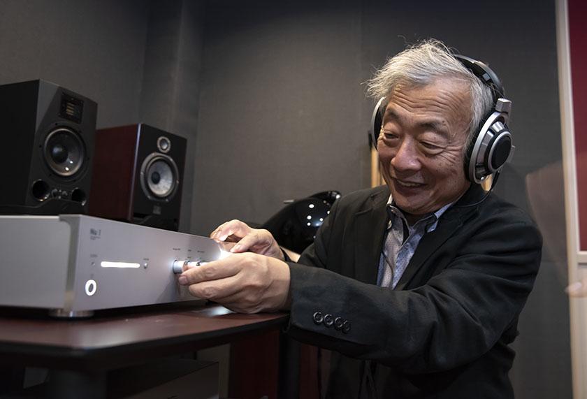 画像: 取材時には、Nutubeの効果を切り替えながらいろいろな音源を聴き比べている。そのインプレッションは記事の後編でお届けします