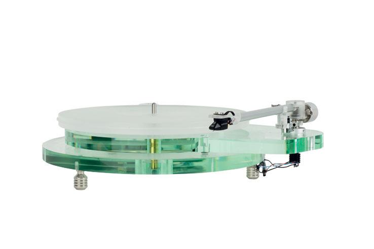 画像: ROKSAN、ガラス仕上げのようなアナログプレーヤー「RADIUS 7」4/20に発売。トーンアーム付属で36万円!   Stereo Sound ONLINE