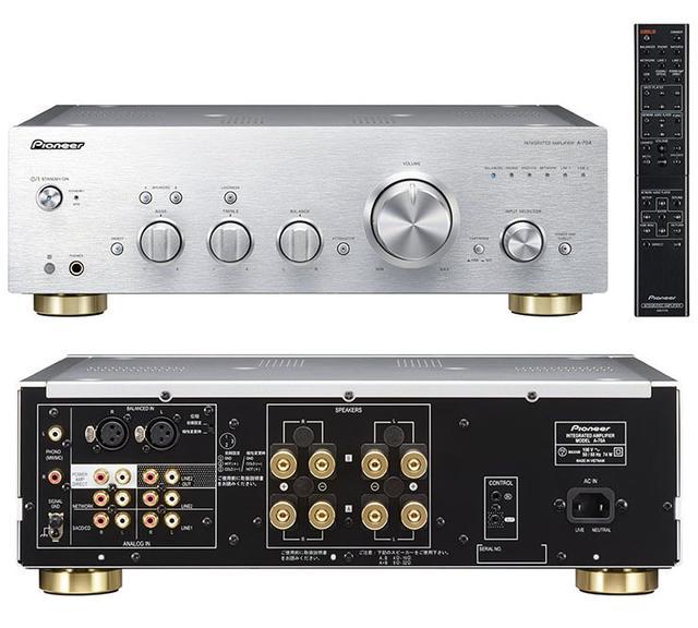 画像: パイオニアから、A-70A/A-70DA/A-50DA デジタルプリメイン登場。 DAラインはDSD対応USB DAC内蔵 | Stereo Sound ONLINE