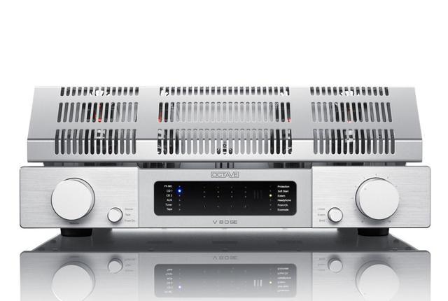 画像: OCTAVEの最上級プリメインがV80SEとなって登場。ドライバー段やトランスを強化 | Stereo Sound ONLINE