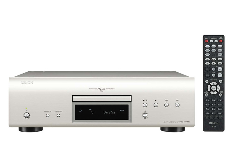 画像: デノン「DCD-1600NE」SACD他ディスク再生専用機。DSD5.6/PCM192/24を再生   Stereo Sound ONLINE