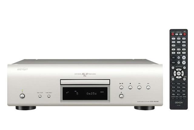 画像: デノン「DCD-1600NE」SACD他ディスク再生専用機。DSD5.6/PCM192/24を再生 | Stereo Sound ONLINE