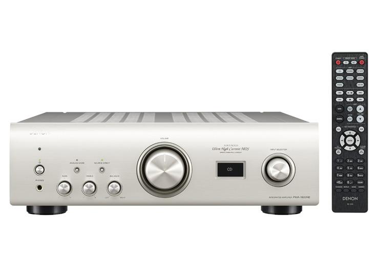 画像: DSD11.2/PCM384/32対応USB DAC搭載プリメインアンプ。デノン「PMA-1600NE」登場 | Stereo Sound ONLINE
