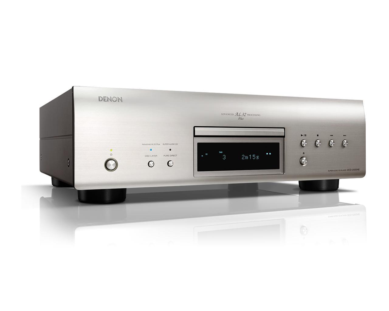 画像: Denon公式   DCD-2500NEの仕様・特長   スーパーオーディオCDプレーヤー