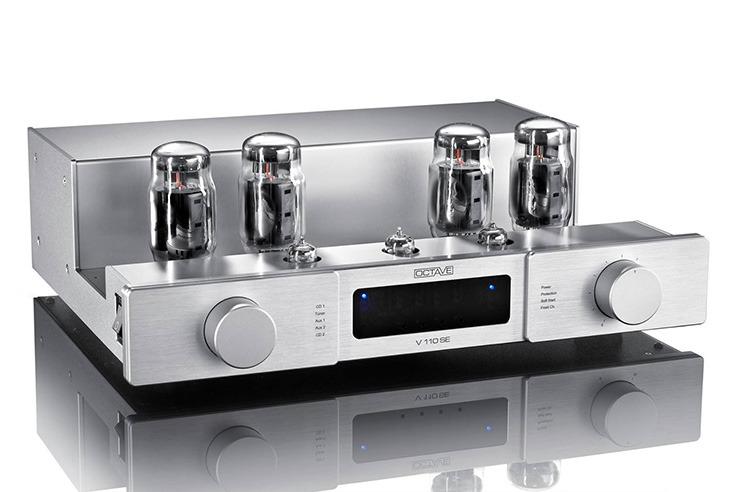 画像: 独オクターブから、同社初の特性調整機能を搭載した真空管プリメイン「V110SE」 | Stereo Sound ONLINE