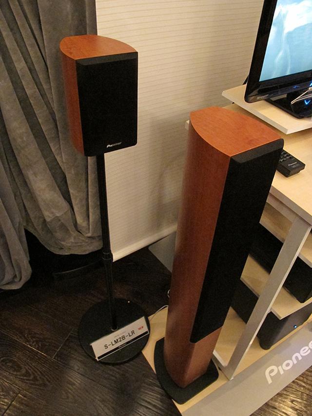 画像: パイオニアのリビングシアターにマッチするスピーカーS-LM2シリーズ | Stereo Sound ONLINE
