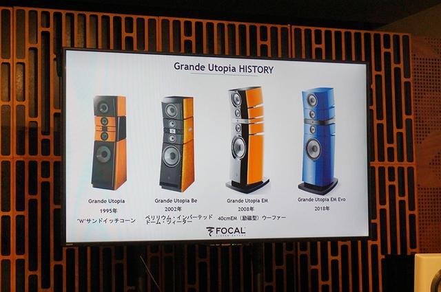 画像: ▲トップ機Grande Utopiaの系譜。今回で4代目のモデルとなった