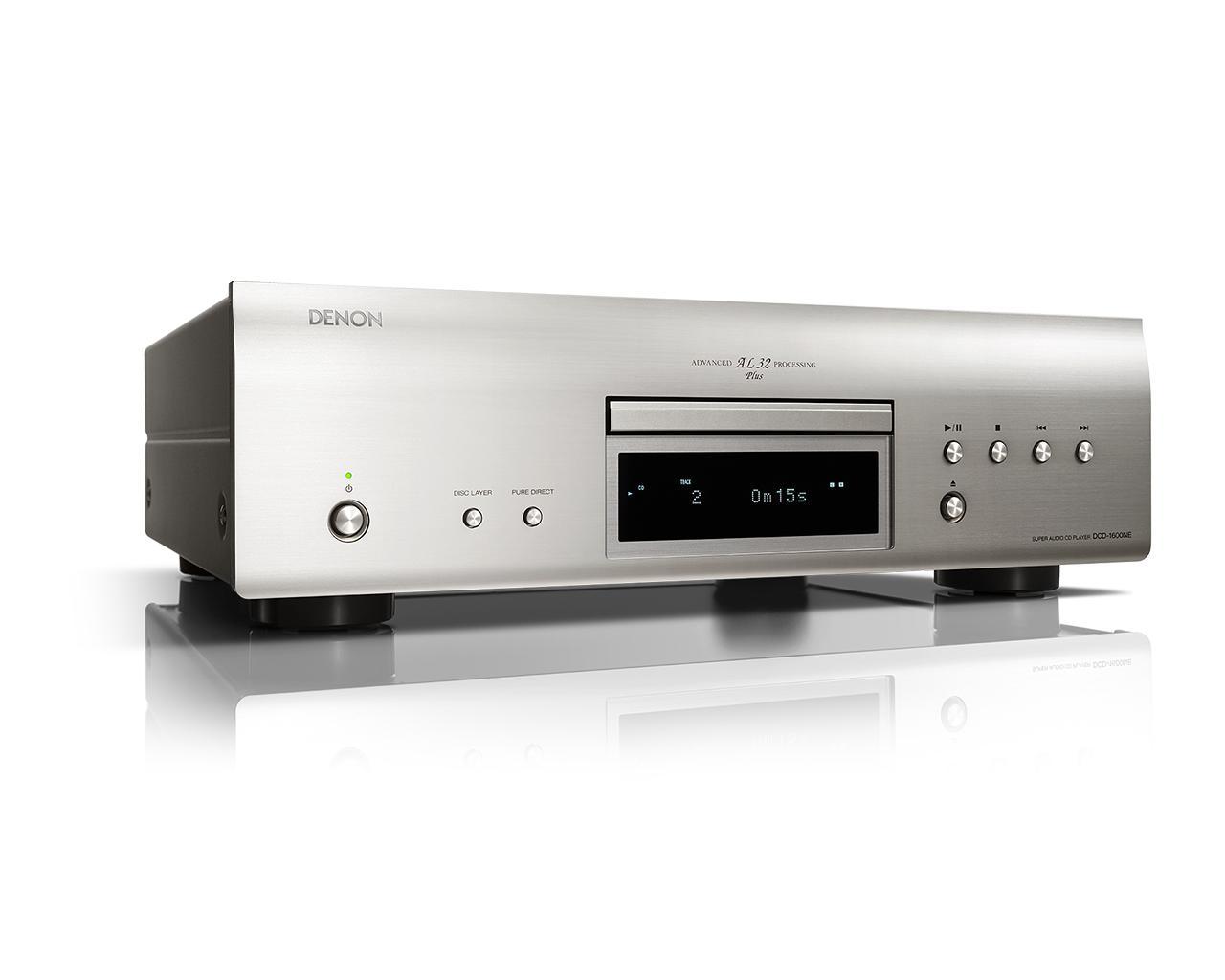 画像: Denon公式   DCD-1600NEの仕様・特長   スーパーオーディオCDプレーヤー