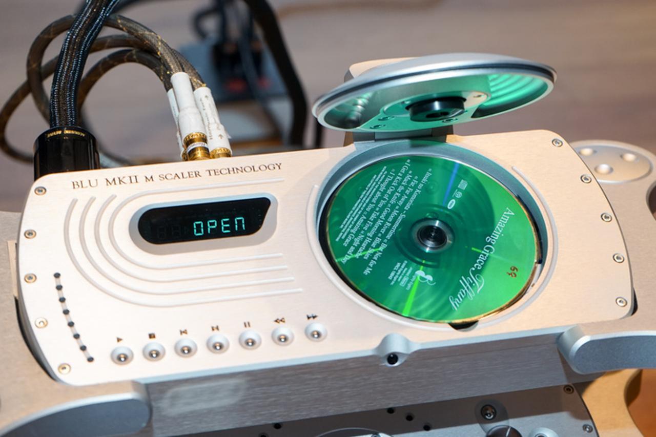 画像: 【3/30追記あり】コードの最上位CDトランスポート「Blu mkII」が発表。CDを最大705.6kHzにアップサンプル | Stereo Sound ONLINE