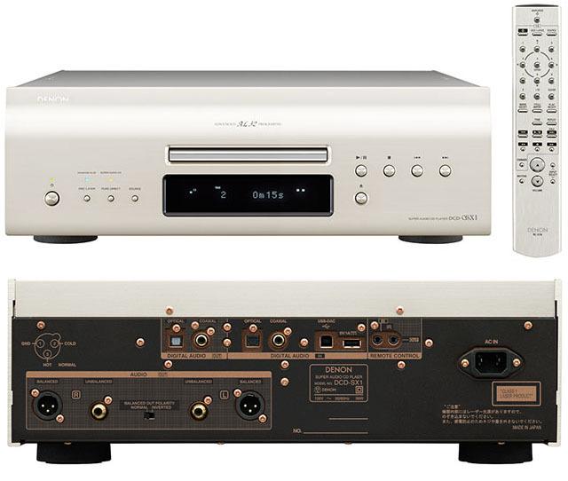 画像: CD30年の集大成、デノンのDCD-SX1デビュー。5年振りの最上級モデル | Stereo Sound ONLINE