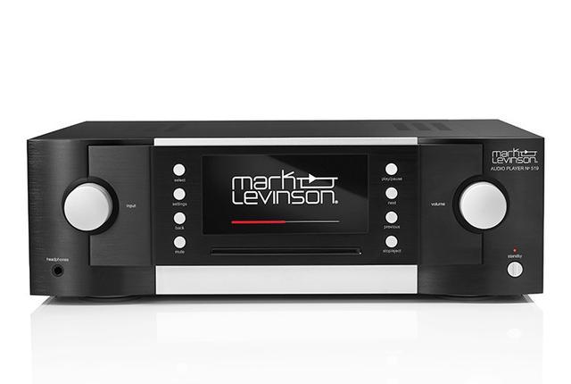 画像: 米国マークレビンソンのオーディオプレーヤー「No.519」。CDからハイレゾまでマルチに対応 | Stereo Sound ONLINE