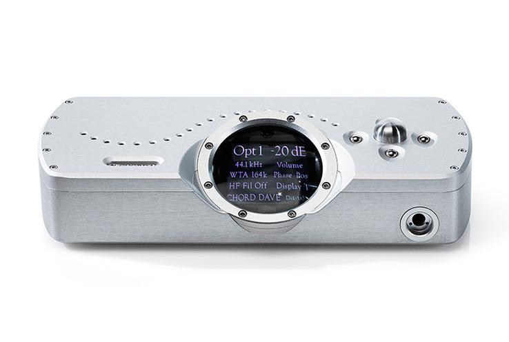 画像: 英国CHORDの「DAVE」。PCM 768kHz/32bit、DSD 11.2MHz対応の最上位D/Aコンバーターが誕生 | Stereo Sound ONLINE