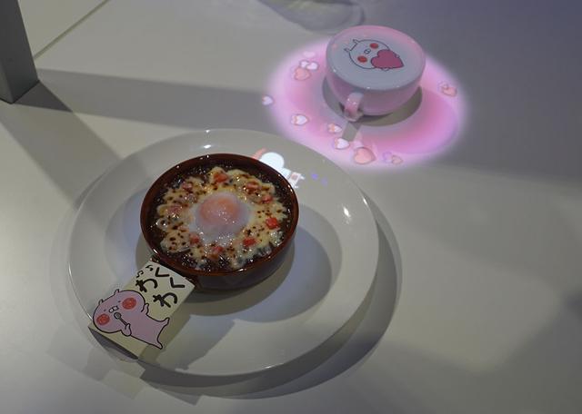 画像: 「未来のカフェ Interactive Character Café」