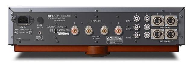 画像2: SPECが、アナログ入力専用のD級プリメインアンプ「PSA-M88」を、11月末日に発売。定価は¥780,000(税別)で