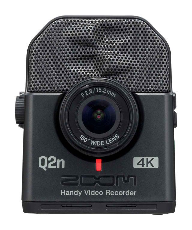 画像: ▲価格はオープンプライス、4K画質の録画に対応したハンディビデオ/オーディオレコーダー「Q2n-4K」