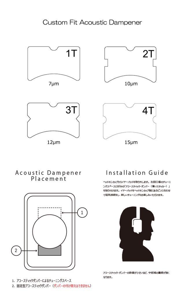 画像: CASCADE(Campfire Audio)|ミックスウェーブ[Mixwave] クローズド・ヘッドホン42mm ベリリウム PVD ダイナミック型ドライバーCustom Fit Acoustic DampenersPremium Select MaterialsALO audio Litz Wire Cable