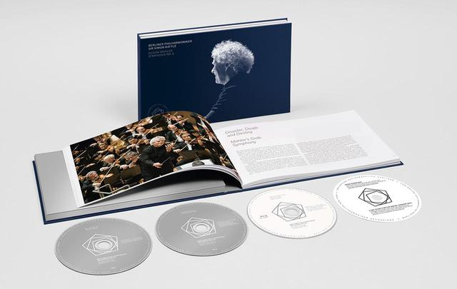 画像: 『マーラー:交響曲第6番』 サー・サイモン・ラトル(指揮)、ベルリン・フィルハーモニー管弦楽団 2CD+Blu-ray(キングインターナショナルKKC 9351/3)日本語帯・解説付き ¥9,000+税