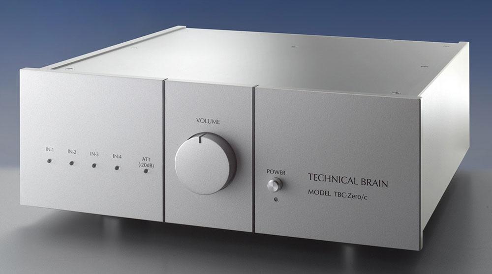 画像: テクニカルブレーンが、プリアンプ機能付MC専用フォノイコライザーアンプ「TBC-Zero/c」を発売。価格¥2,280,000で、12月1日に