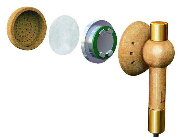 画像: ハウジングのメイプルは天然素材のため、木目は一台一台異なるという。低音に留意したチューニングが行なわれているという