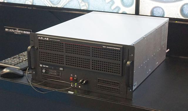 画像: こちらが16K/120pの出力が可能なプレーヤー
