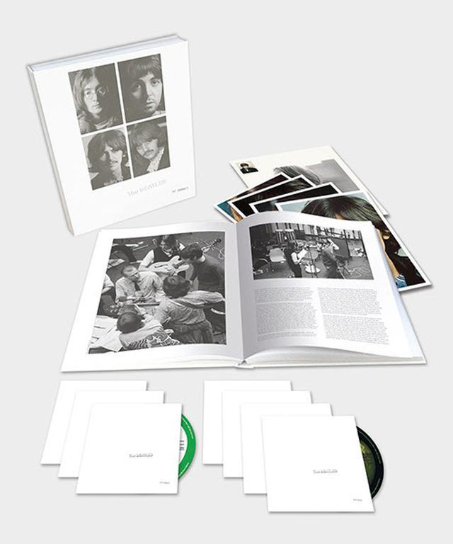 画像: 『ホワイト・アルバム 』スーパー・デラックス・エディション <6CD + 1ブルーレイ(音源のみ)収録 豪華本付ボックス・セット> <輸入国内盤仕様> UICY-78856 ¥19,500円+税