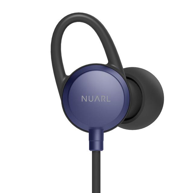 画像: NUARLの人気ワイヤレスイヤホン「NB20c」のリミテッドエディション。カラーリングはネイビー(写真)とグリーンを用意する