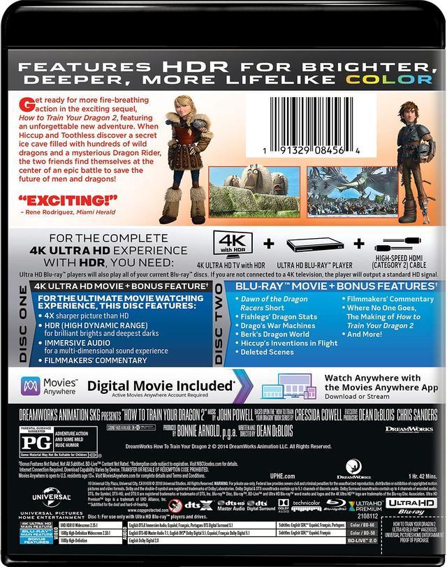 画像4: メガヒット・アニメーションが4K&DTS:Xで登場『ヒックとドラゴン』『ヒックとドラゴン2』【海外盤Blu-ray発売情報】