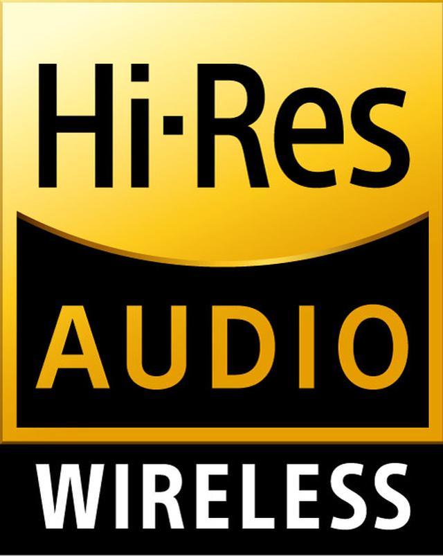 画像: 新たにライセンスをスタートした「ハイレゾオーディオワイヤレス」のロゴマーク
