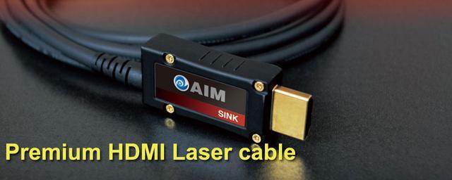 画像: プレミアムHDMIレーザーケーブル [LS2] | AIM電子 - オーディオ & ヴィジュアル製品