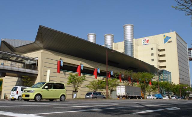画像: アジア太平洋インポートマート(AIMビル)の3階が会場。JR小倉駅から、徒歩約5分で到着する便利な立地だ www.aim-kipro.co.jp