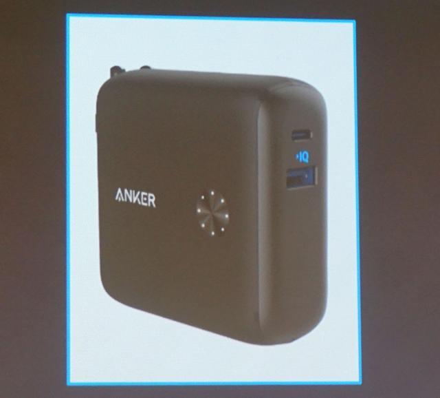 画像: Anker PowerCore Fusion 1000 ¥4,999(税込、予価)、2019年Q1発売予定 10,000mAh大容量バッテリーで、急速充電器機能も備えている。USB-A、USB-Cポートの2種類を搭載している点も注目