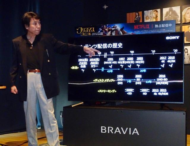 画像: ソニービジュアルプロダクツ TV事業部 主幹技師 小倉敏之氏