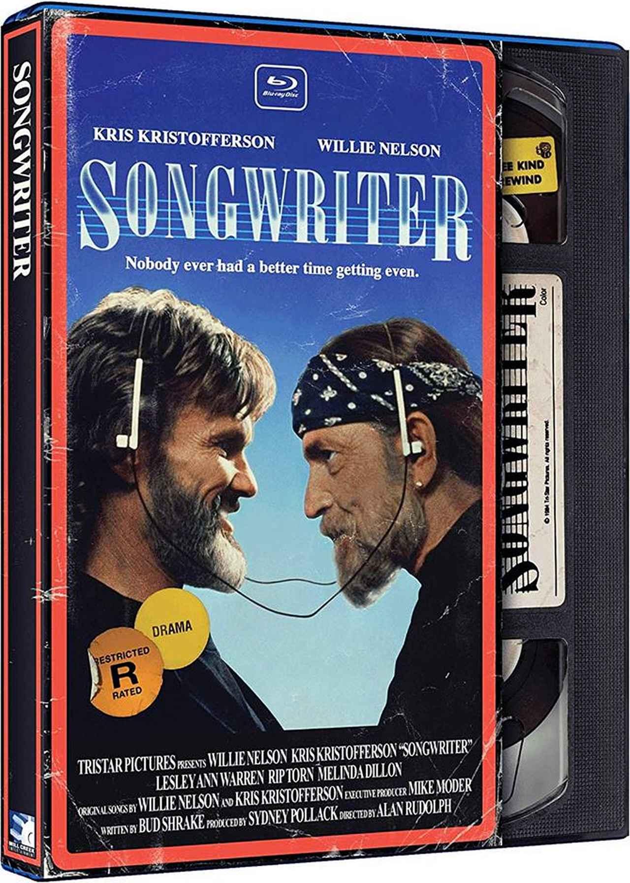 画像: Feb 19, 2019 SONGWRITER/ソングライター (1981) 監督アラン・ルドルフ:主演ウィリー・ネルソン, クリス・クリストファーソン 国内BLU-RAY/DVD未発売