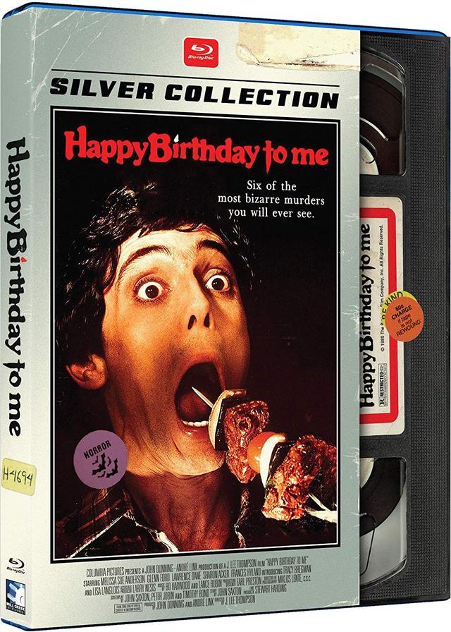 画像: HAPPY BIRTHDAY TO ME/誕生日はもう来ない (1981) 監督J・リー・トンプソン:主演メリッサ・スー・アンダーソン 国内BLU-RAY未発売