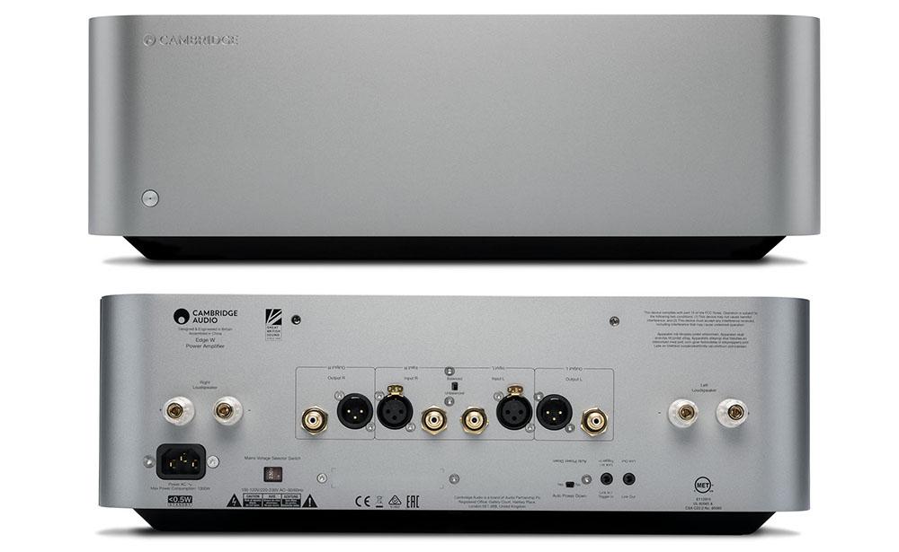 画像3: ケンブリッジオーディオ50周年を記念した新シリーズ。プリメインアンプ「EDGE A」、ネットワーク機能搭載プリアンプ「EDGE NQ」、ステレオパワーアンプ「EDGE W」が12月6日に発売!