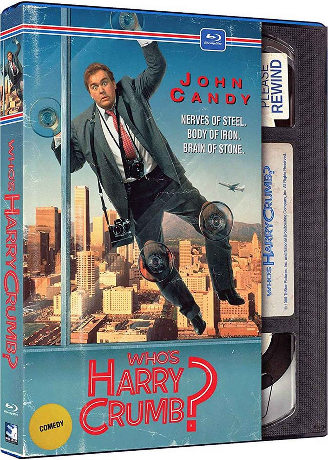 画像: ジョン・キャンディの 迷探偵ハリーにまかせろ?!(1989/日本未公開) 監督ポール・フラハーティ:主演ジョン・キャンディ 国内BLU-RAY/DVD未発売