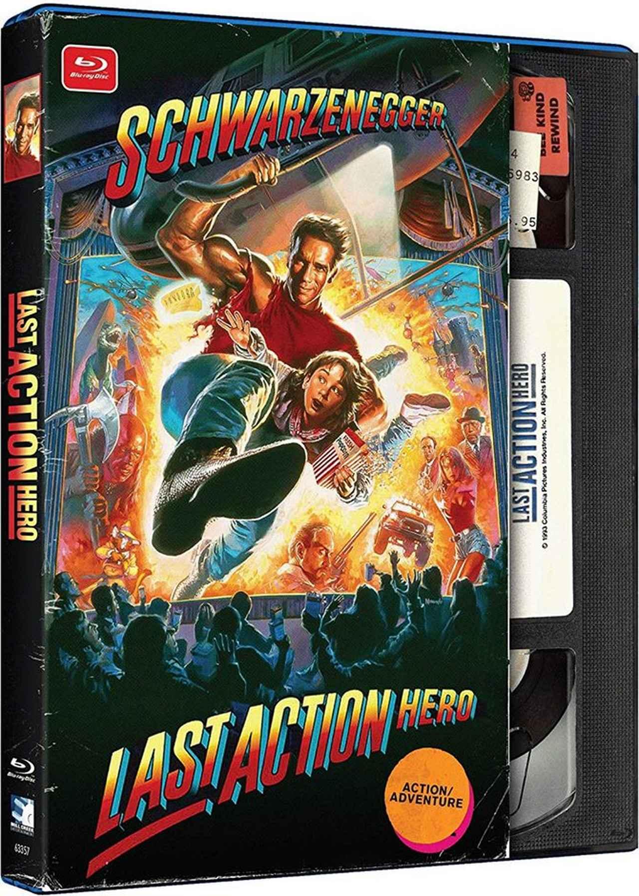 画像: LAST ACTION HERO/ラスト・アクション・ヒーロー (1993) 監督ジョン・マクティアナン:主演アーノルド・シュワルツェネッガー
